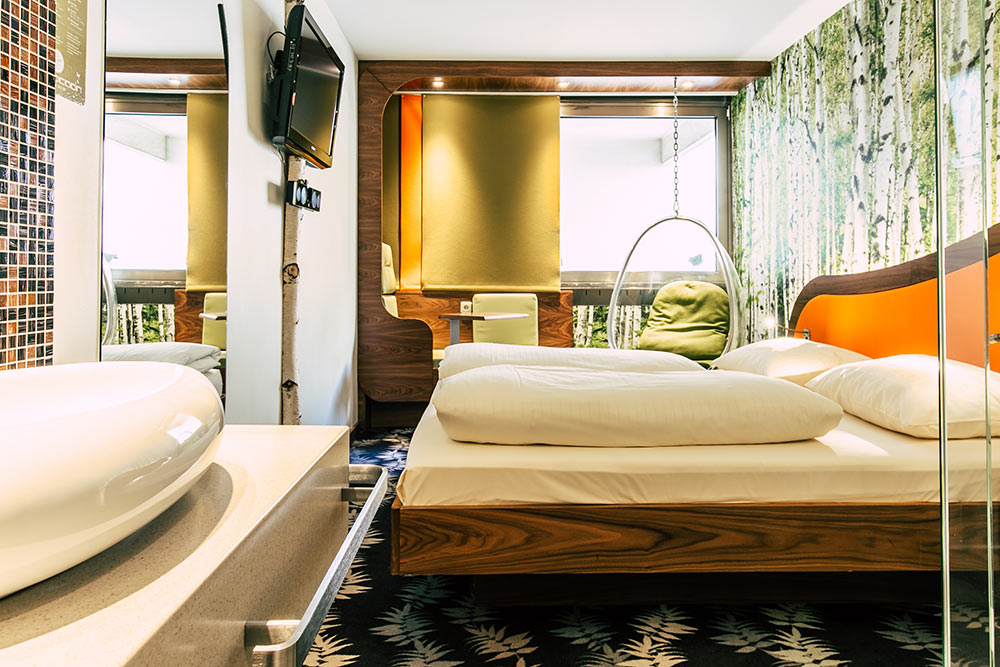 Double room of Cocoon Hotel Stachus in Munich
